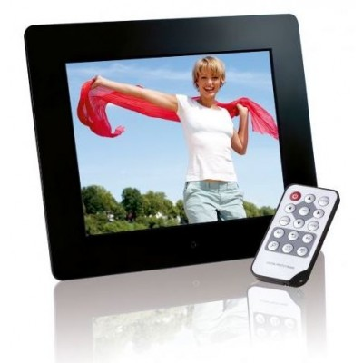 "Intenso Digital Photo Frame  8''  Photobase - SLIM  - 8"" display - 800x600 pixel - 4:3 - remote control - frame: acrylic"