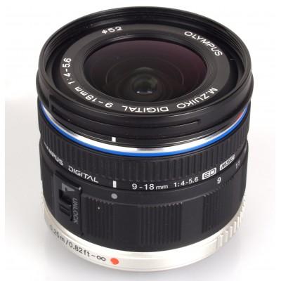 Olympus M.Zuiko Digital Black ED 9-18mm 1:4.0-5.6