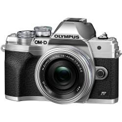 Olympus OM-D E-M10 Mark IV Silver + Pancake 14-42mm EZ Kit