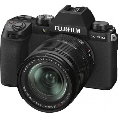 Fujifilm X-S10+XF 18-55mm f2.8-4 R LM OIS Black