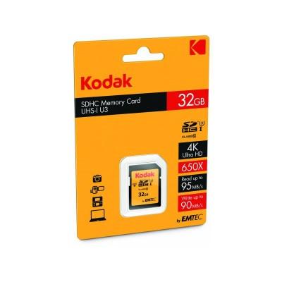 Kodak SD Card SDHC Class 10 UHS-I U1 32GB