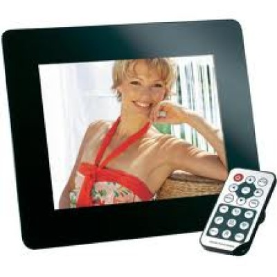 "INTENSO DIGITAL PHOTO FRAME 8'' MEDIA Director - SLIM 8"" display - 800x600 pixel - 4:3 - multimedia function - remote control - frame: acryli"