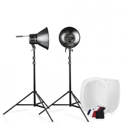 Walimex Studioset Daylight 600/600 with Light Tent