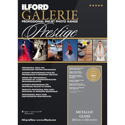 Ilford Prestige Metallic Gloss (25)  A2 (260gsm)