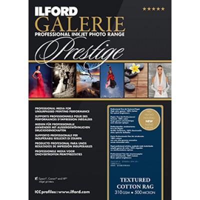 Ilford Prestige Textured Cotton Rag (25) A2 (310gsm)
