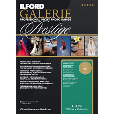 Ilford Prestige Gloss (100) 10x15 (260gsm)
