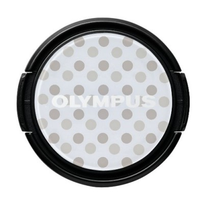 Olympus LC-37PR GDT Dress-Up Lens Cap - grey-spotted