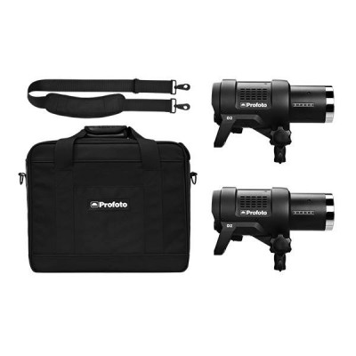 Profoto D2 Duo Kit 500/500  (περιλαμβάνει  2 × D2 AirTTL - 2 × Power cable - 1 × Bag S Plus)