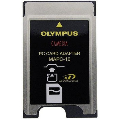 Olympus MAPC-10 PCMCIA PC Card Adapter for Smart Media SM/xD Flash (200835)