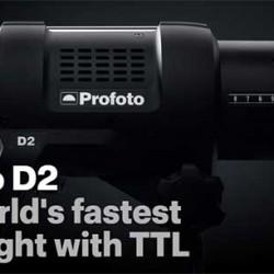 Profoto D2 το ταχύτερο φλας στον κόσμο