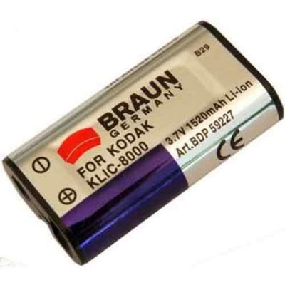 Braun Μπαταρία Klic-8000 για Kodak 1520mAh