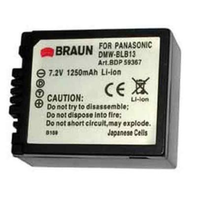 Braun Μπαταρία DMW-BLB13E για Panasonic 1250mAh