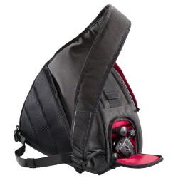 Mantona camera bag triangle grey + DSLM tripod