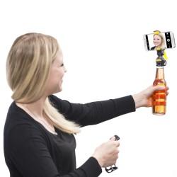 Mantona Smartph. Bottle Selfie Holde penguin
