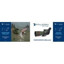 FALCON OPTICS ΤΗΛΕΣΚΟΠΙΟ Spotting Scope 20-60x60, Black