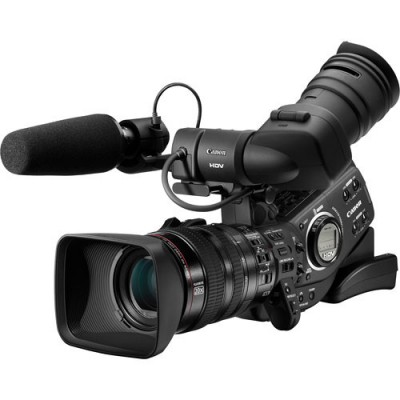 Canon XL-H1 3-CCD Native 16:9 High Definition 1080i Camcorder with 20x HD Video Zoom Lens, HD/SD-SDI Output